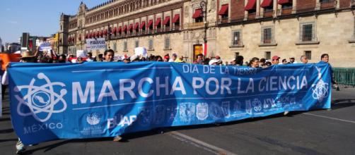 Marchas por más presupuesto para la ciencia se realizaron en varias ciudades de México.