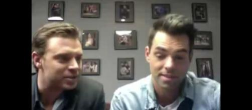 Soap fans are wondering if Billy Miller and Jason Thompson will switch daytime dramas. - [Lilacstar3 / YouTube screencap]