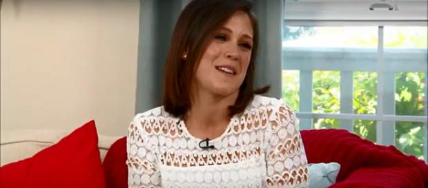 Erin Krakow says that Elizabeth will 'be open to love' in Season 7 of 'When Calls the Heart.' - [Home & Family / YouTube screencap]