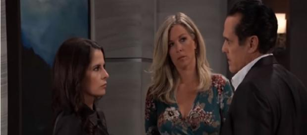 Sonny investigates Kristina.[Image Source: - GH/YouTube]