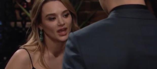 Summer tries to manipulate Kyle on 'Y&R.' - [Y&R / YouTube screencap]