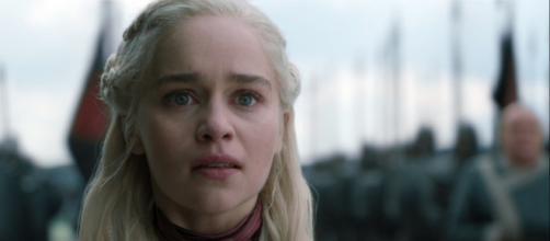 Daenerys após a execução de Missandei (Reprodução/HBO)