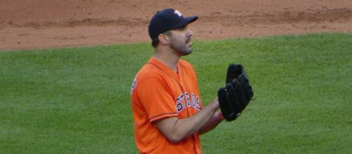 Justin Verlandet has led the American League in strikeouts five times. [Image Source: Flickr | Larry Syverson]