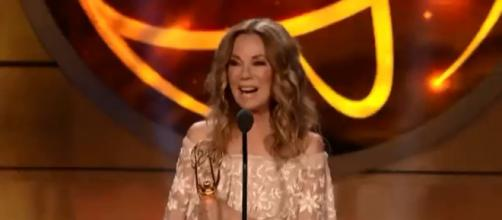 Kathie Lee Gifford is funny and full of grace during her Daytime Emmy acceptance speech. [Image source: TODAY-YouTube]