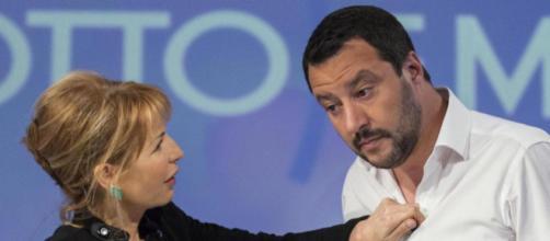 Lilli Gruber contro Matteo Salvini sul caso Fazio