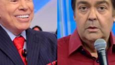 Depois de chamar o apresentador de mentiroso, Silvio Santos volta a citar Faustão