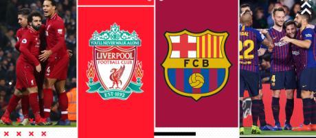 Semifinale di ritorno tra Barcellona e Liverpool