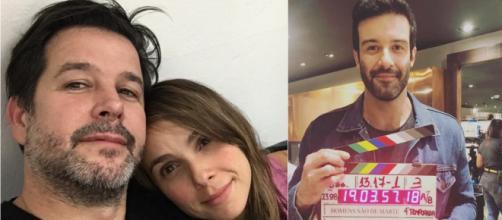 Gustavo Vaz é apontado como pivô da separação dos atores. (Divulgação/Instagram/@gustavo_vaz/@murilobeniciooficial)