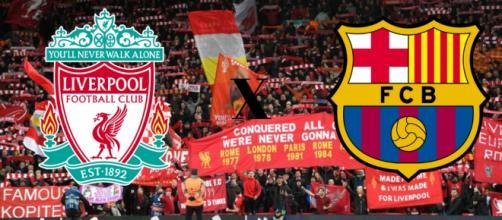Liverpool x Barcelona: transmissão ao vivo na TNT e no Facebook. (Reprodução/ Montagem)