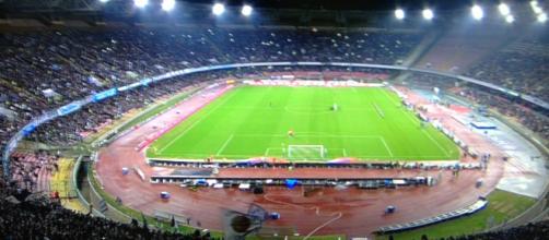 Tentato furto di seggiolini allo stadio San Paolo.