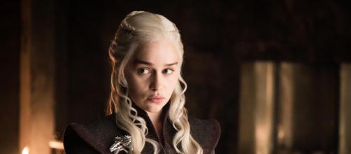 Daenerys Targaryen del Trono di Spade.