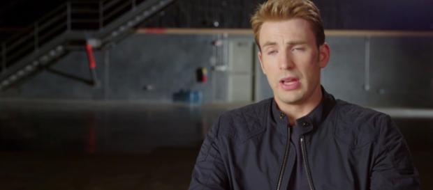 Chris Evans appears to be finished with his popular Captain America role. [Image Credit] Flicks And The City Clips/YouTube