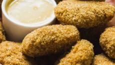 Nuggets de frango caseiro sem lactose