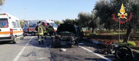 Calabria, incidente stradale: un morto e un ferito grave (foto di repertorio)
