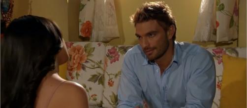 Bruno fica furioso ao saber do casamento de Ana Paula. (Reprodução/Televisa)