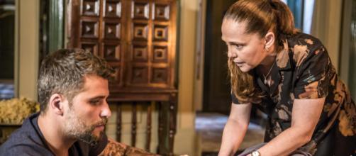 Bruno Gagliasso e Isabela Garcia em 'O Sétimo Guardião'. (Arquivo Blasting News)