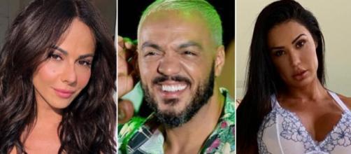 Gracyanne diz que Belo deve procurar Viviane Araújo. (Arquivo Blasting News)