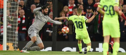 Liverpool 4-0 Barcelona: Why Alisson wore one-off grey kit in ... - gistjunction.com