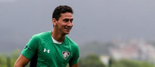 Recuperado de lesão, Paulo Henrique Ganso pode retornar contra o Botafogo. (Divulgação/Lucas Merçon/Fluminense)