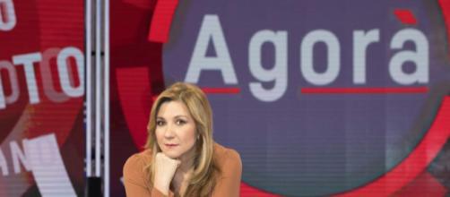 Serena Bortone annuncia in diretta l'assenza di Pietro Tatarella da Agorà causa arresto