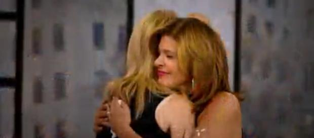 Kathie Lee Gifford and Hoda Kotb get to share hugs and baby joy with Hope Catherine during special visit. - [TODAY / YouTube screencap]