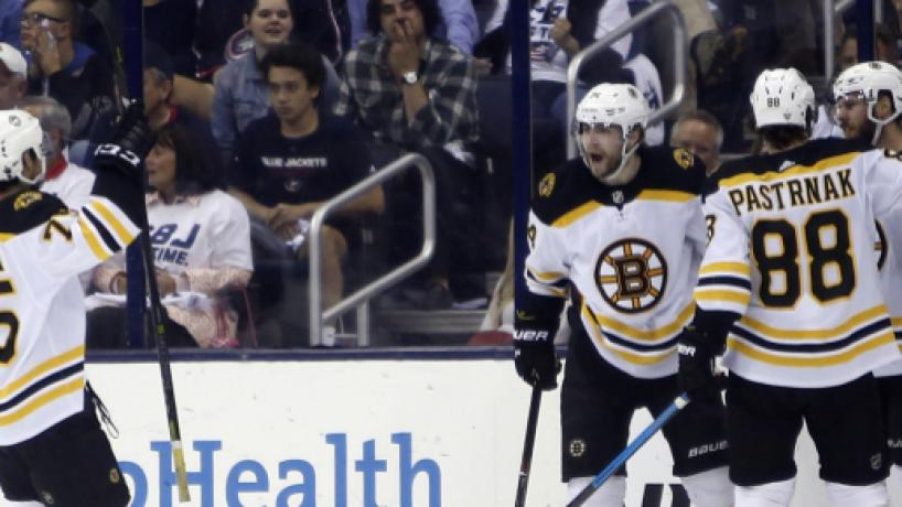 NHL Playoffs: Bruins derrotan 3-0 a los Jackets para pasar a la Final del Este