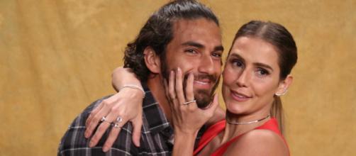 A atriz Deborah Secco e o marido Hugo Moura. (Arquivo Blasting News)