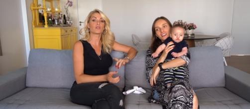 Isabel concedeu uma entrevista para sua irmã Ana Hickmann e falou sobre lábio leporino. (Reprodução/Youtube)