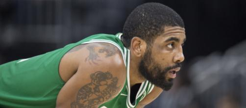 Kyrie Irving had major shooting woes as the Celtics fell four straight times to the Bucks. [Image Source: Flickr | Dan Garcia]