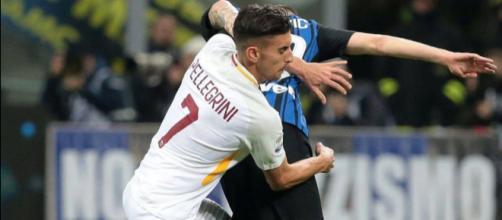 Lorenzo Pellegrini, con Conte allenatore sarebbe il primo obiettivo per il centrocampo dell'Inter
