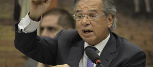 Ministro Paulo Guedes diz durante a comissão que só iria respeitar quem o respeitasse. (Aquivo Blasting News)