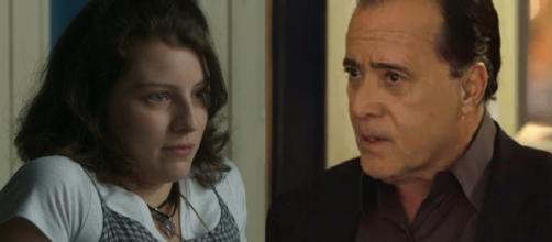 Rivalda e Olavo se apaixonarão. (Reprodução/TV Globo)