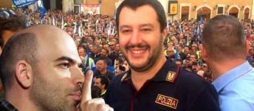 Roberto Saviano critica Matteo Salvini e la polizia di Stato