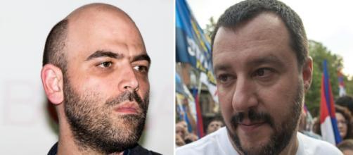 Saviano contro Salvini: Non vuoi indispettire i feroci cani di Casapound - liberopensiero.eu