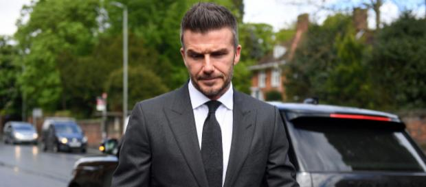 David Beckham banned from driving for six months for using mobile [Image pagesix.com]