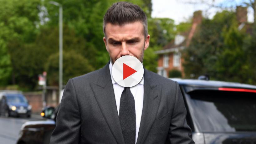 David Beckham banned from driving for six months for using phone in his Bentley