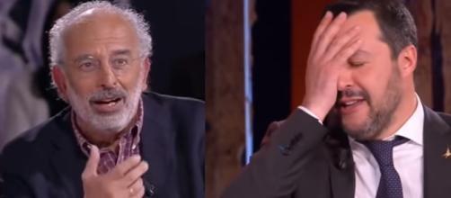 Ancora scintille tra Gad Lerner e Salvini
