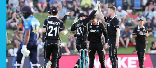 New Zealand vs Sri Lanka live on Hotstar (Image via ICC/Twitter)