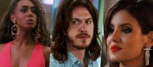 Vanessa consegue passar noite com Quinzinho e humilha Dandara. (Reprodução/TV Globo)