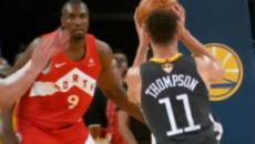 No stopping Raptors as they sweep Warriors' home court games