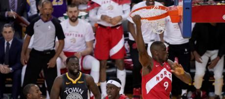 Ibaka y los Raptors ganaron con remontada el Juego 4 de las NBA Finals. - durangoherald.com