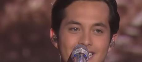 Laine Hardy, 'American Idol' winner remembers Alejandro while in Nashville - Image credit - American Idol / YouTube