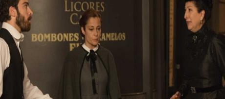 Una Vita, spoiler: Diego accusa Ursula come colpevole della morte di suo padre Jaime
