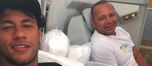 Ex-advogado de Najila diz que pai de Neymar o ameaçou. (Reprodução/Instagram/@neymarjr)