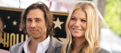 Gwyneth Paltrow e il marito Brad Flachuk.