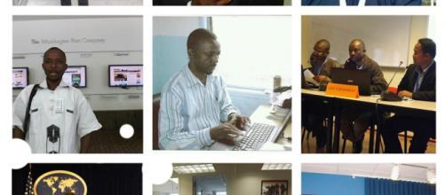 Le Président National du SNJC (Syndicat National des journalistes du Cameroun) Dénis Kwebo © Odile Pahai