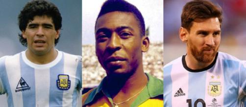 Maradona, Pelé e Messi tra i fuoriclasse che non hanno mai vinto la Copa America