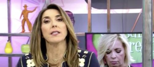 Paz Padilla confiesa a Carmen Borrego lo que siente por su salida de Sálvame