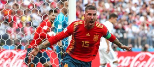 Il capitano della nazionale spagnola, Sergio Ramos