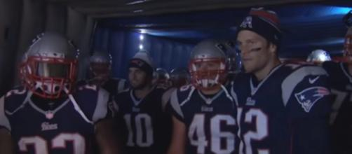Tom Brady is expected to lead the Patriots to another Super Bowl win. - [NFL / YouTube screencap]